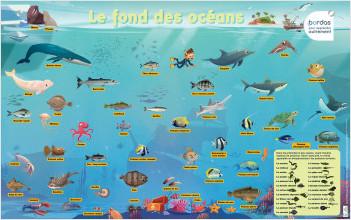 Les Posters Phosphorescents - Le fond des océans