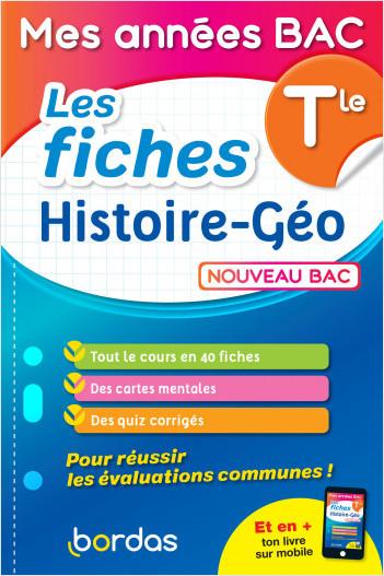 Mes années BAC - Les fiches Histoire-Géo Terminale