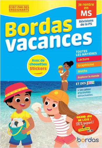 Bordas Vacances - Je rentre en Moyenne section