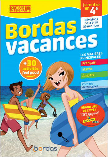Bordas Vacances - Je rentre en 4e