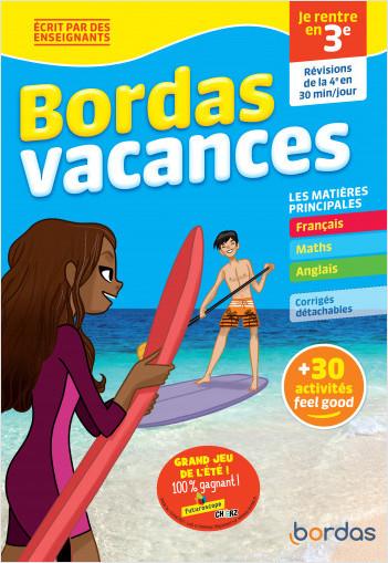 Bordas Vacances - Je rentre en 3e