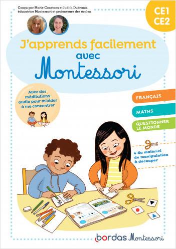 J'apprends facilement avec Montessori - CE1 - CE2