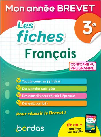 Mon Année Brevet Les fiches Français 3e