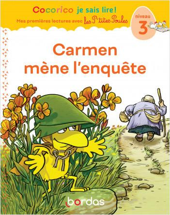 Premieres lectures  - Carmen mène l'enquête, niveau 3