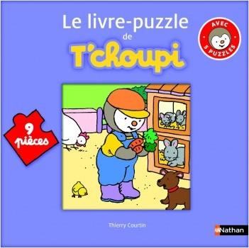 Le livre puzzle de T'choupi - Dès 2 ans