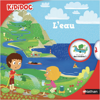 L'eau - livre animé Kididoc - dès 5 ans
