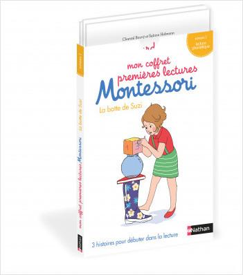 Mon coffret premières lectures Montessori : La botte de Suzi - Niveau 1 - 4/7 ans