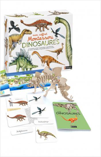 Mon coffret Montessori dinosaures - Dès 5 ans