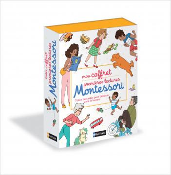 Mon coffret jeux premières lectures Montessori - dès 5 ans