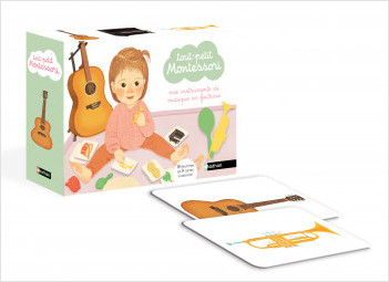 Mes instruments de musique en feutrine - Tout-petit Montessori - dès 15 mois