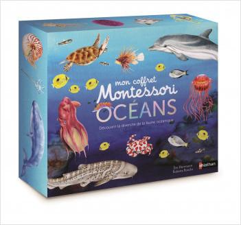 Mon coffret Montessori des océans - Pour découvrir la diversité de la faune océanique dès 3 anss