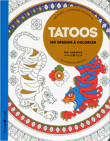 Tatoos - Aux sources du bien-être avec le coloriage NE