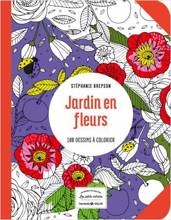 jardin en fleurs-Les petits cahiers aux sources du bien-être