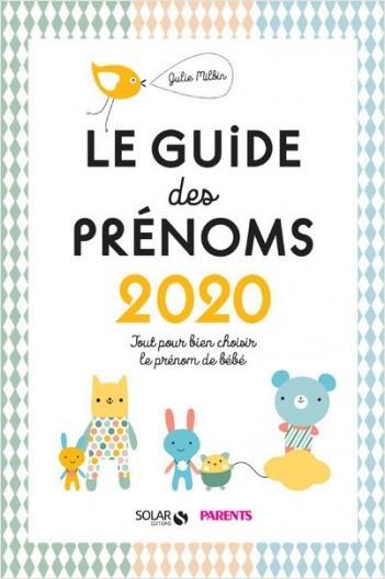 Le guide des prénoms 2020