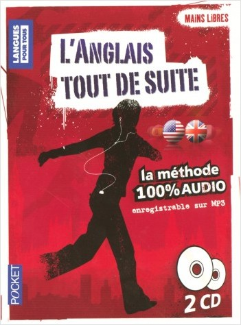 Coffret Mains libres L'anglais tout de suite 100% AUDIO (2CD)