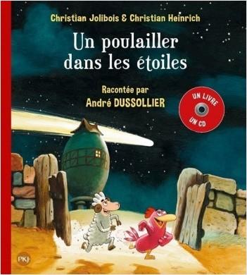 P'tites Poules Livre + CD - Un poulailler dans les étoiles - 2