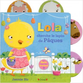Lola cherche le lapin de Pâques