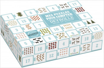 Mes puzzles pour compter Deyrolle– Jeu pour enfant – À partir de 1 an