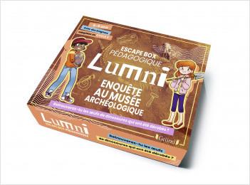 Escape Box pédagogique Lumni  – Enquête au musée archéologique (6-9 ans) – Jeu de société jeunesse – À partir de 6 ans