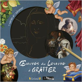 Cartes à gratter : Œuvres d'art du Louvre – Pochette avec 10 cartes à gratter – À partir de 6 ans