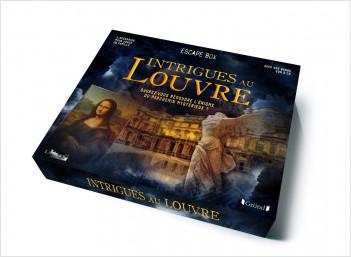 Grande escape box Intrigues au Louvre – Jeu de société famille – À partir de 7 ans