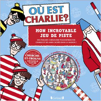 Où est Charlie ? – Mon jeu de piste – Pochette plate – Dès 6 ans