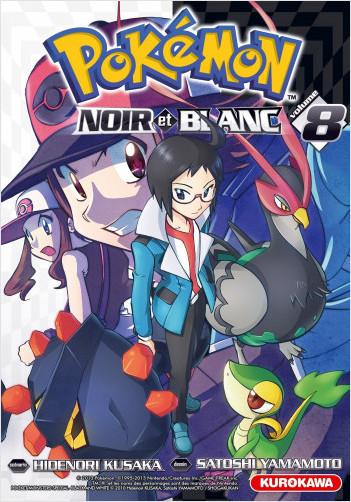Pokémon - Noir et Blanc - tome 08