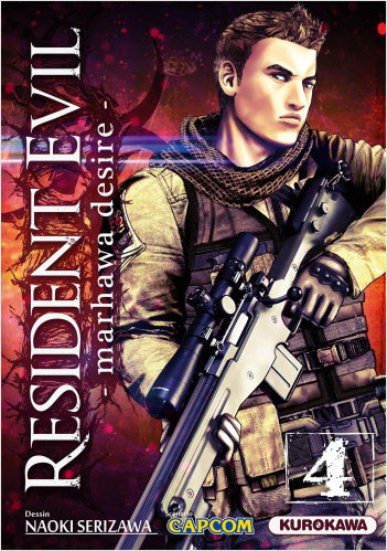 Resident Evil - Marhawa Desire - tome 04