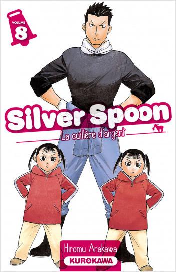 Silver Spoon - La cuillère d'argent - tome 08