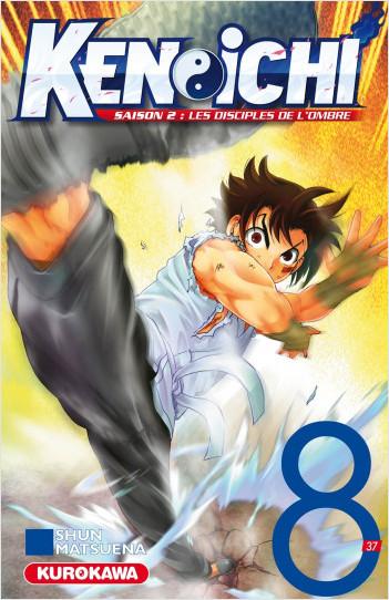 Ken-ichi - saison 2, Les Disciples de l'ombre - tome 08