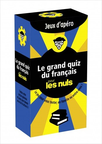 Le grand quiz du français pour les Nuls Jeux d'apéro