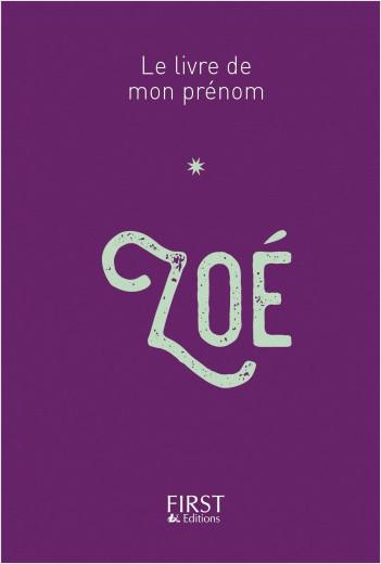 Le Livre de mon prénom - Zoé