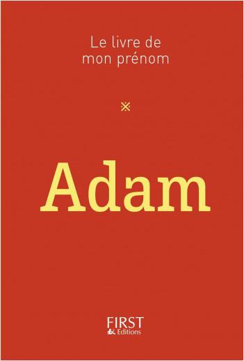 Le Livre de mon prénom - Adam
