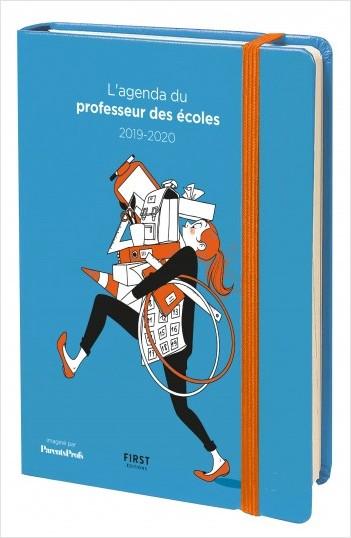 L'agenda du professeur des écoles 2019-2020 - Le 1er agenda pour professeur des écoles