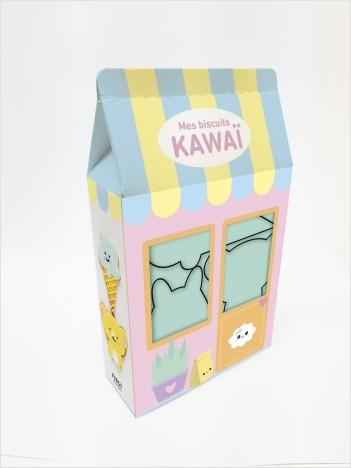 Mes biscuits kawaï - 4 emporte-pièces + 1 livre de recettes