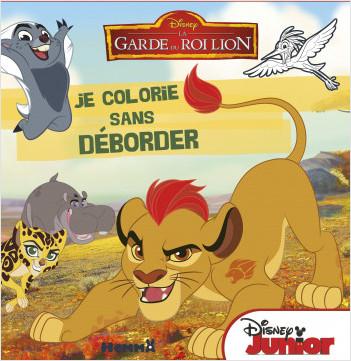 Disney - La Garde du Roi Lion - Je colorie sans déborder