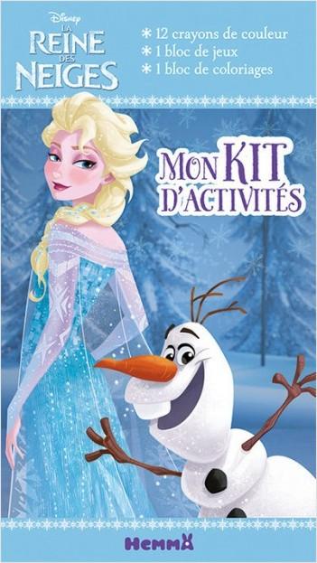 Disney La Reine des Neiges - Mon Kit d'activités