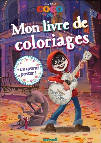 Disney Coco - Mon livre de coloriages + un grand poster