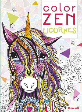 Color Zen - Licornes