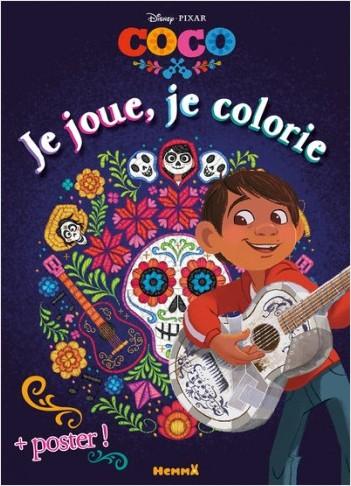 Disney Coco - Je joue, je colorie + Poster