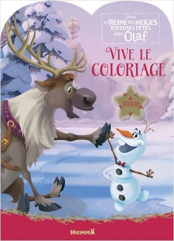 Disney La Reine des Neiges - Vive le coloriage ! (Olaf et Sven)