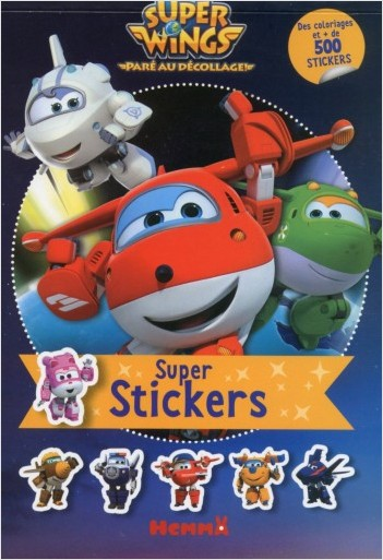 Super Wings - Super stickers !