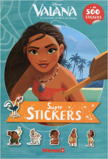 Disney - Vaiana - Super Stickers !