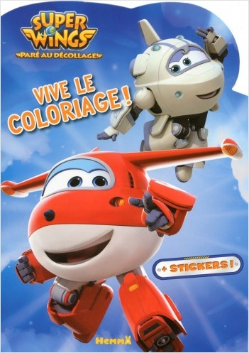 Super Wings - Vive le coloriage !