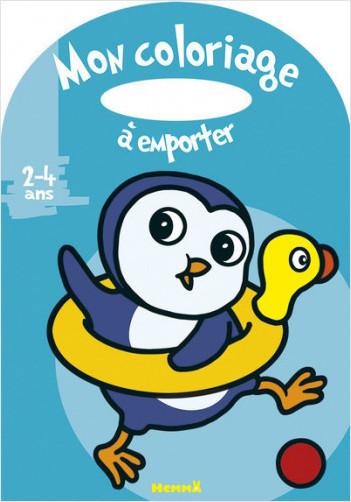 Mon coloriage à emporter (2-4 ans) (Pingouin)