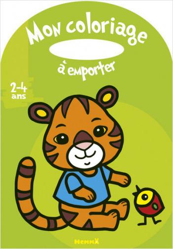 Mon coloriage à emporter (2-4 ans) (Tigre)