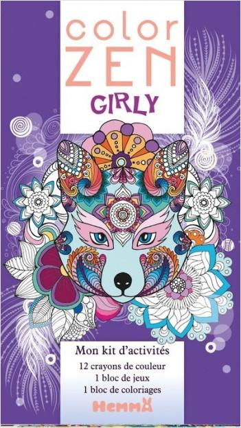 Girly - Mon kit d'activités (Loup)
