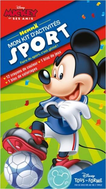 Disney - Mickey Sport - Mon kit d'activités