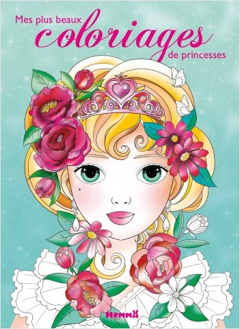 Mes plus beaux coloriages de princesses - tome 2
