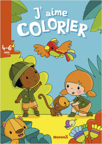 J'aime colorier (4-6 ans) (La jungle)